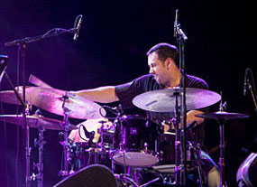 Drumming wonder Antonio Sanchez at the International Jazz & Blues Festival, San Miguel de Allende