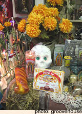 A Day of the Dead Altar