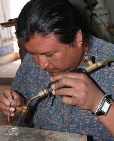 David Godínez, jewelry artist in San Miguel de Allende