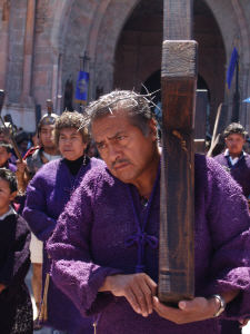 Penitent, Good Friday Procession, San Miguel de Allende, Mexico