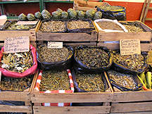 Herbs for sale in the open market, San Miguel de Allende