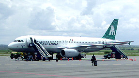 Mexicana Airlines Plane
