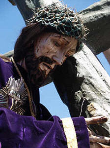 Christ with the Cross, Semana Santa, Holy Week, San Miguel de Allende