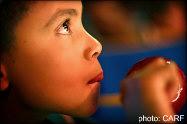 A little boy eager for Christmas, San Miguel de Allende