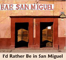 Bar/cantina in San Miguel de Allende