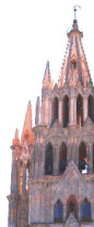 The Parroquia Church, San Miguel de Allende