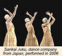 Japanese Dance Group Sankai Juku