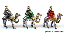 The three Kings of the Epiphany