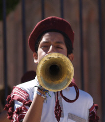 Trumpeter in a Marching Band, San Miguel de Allende