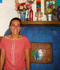 Valeria, owner of La Brasserie, San Miguel de Allende