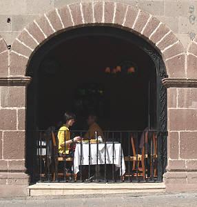 Dining out, San Miguel de Allende
