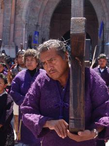 Penitent, Good Friday Procession, San Miguel de Allende, Mexico
