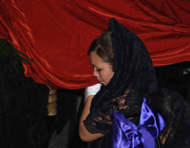 The Evening Procession of the Holy Burial, Good Friday, Semana Santa, Holy Week, San Miguel de Allende