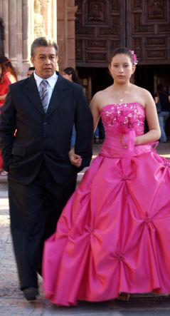 A Girl on her Quinceaños, San Miguel de Allende