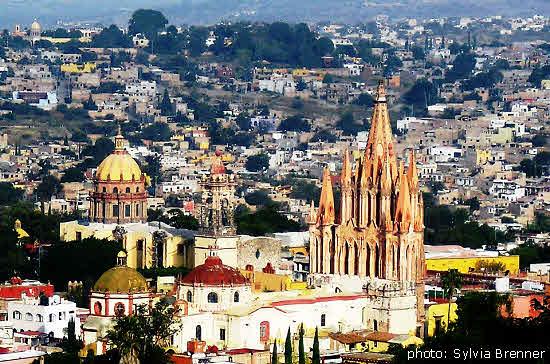 San Miguel de Allende View with Parroquia
