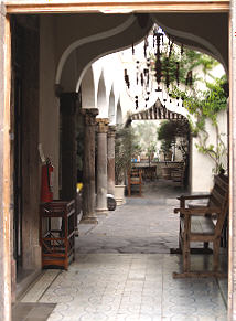 Entry to The Restaurant, Sollano 16, San Miguel de Allende