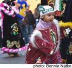 Boy in a Three Kings Day Parade in San Miguel de Allende
