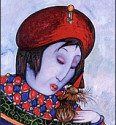 Painting by Toller Cranston, San Miguel de Allende
